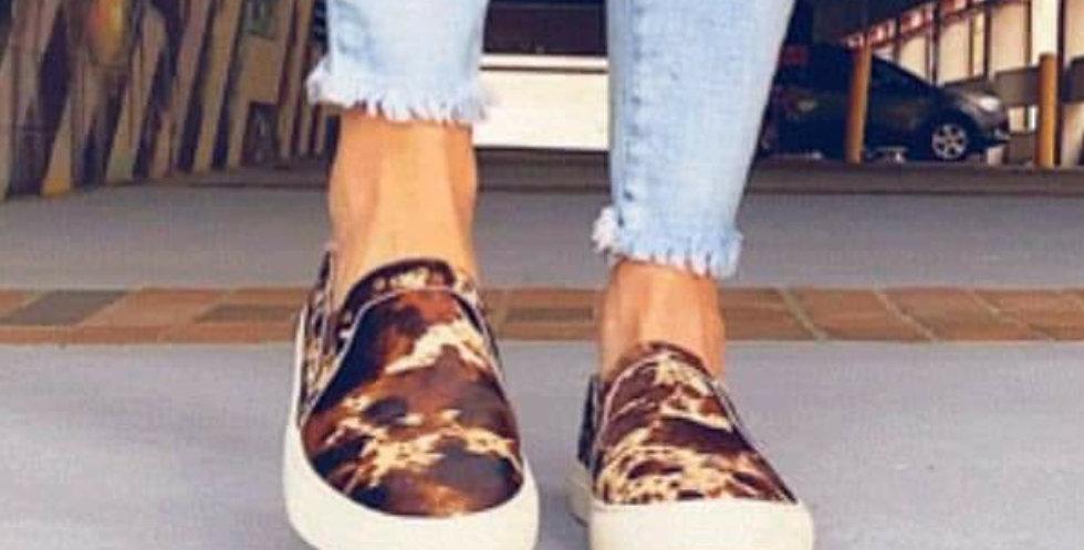 Cow Hide Leather Shoe-Corkys