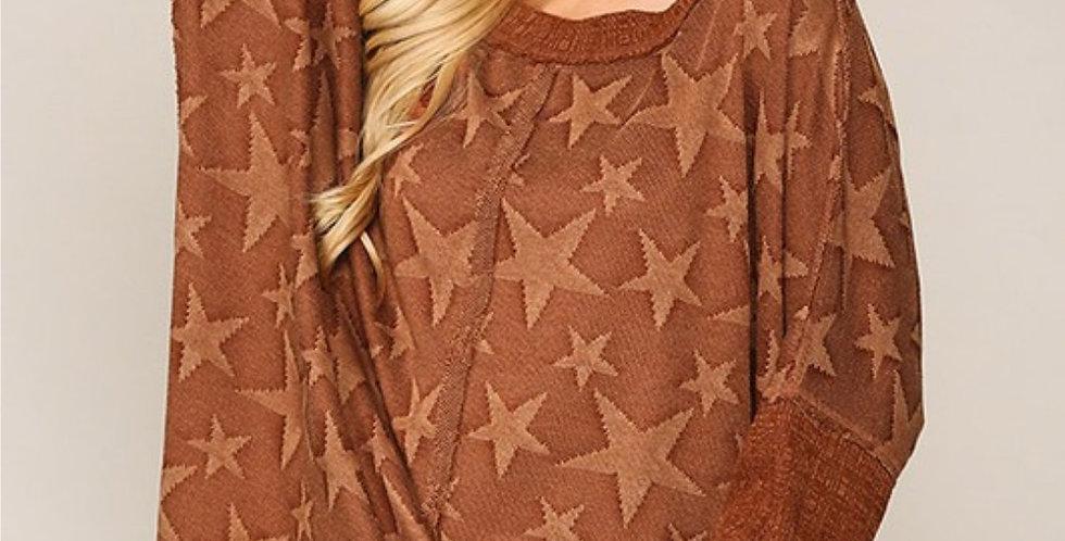 Star Dolman Sleeve Top -2 colors