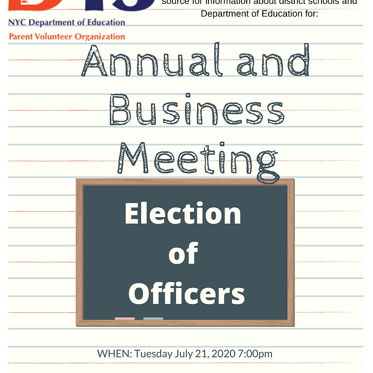 Annual and Business Meeting