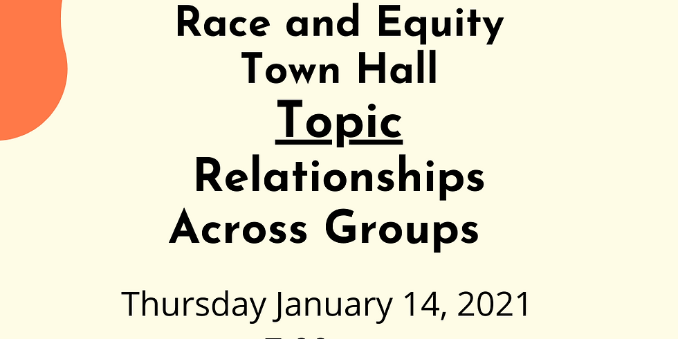 CEC Meeting and District 13 Race and Equity Town Hall:Relationships Across Groups