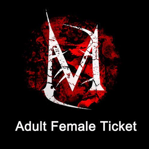 Adult Female Meltdown Ticket FULL BOARD