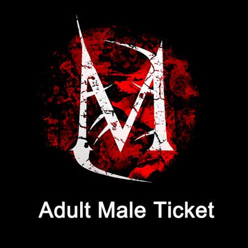 Adult male FULL BOARD Ticket