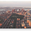 Thumbnail: Downtown Boston Aerial Sunset  - Wooden Canvas Print