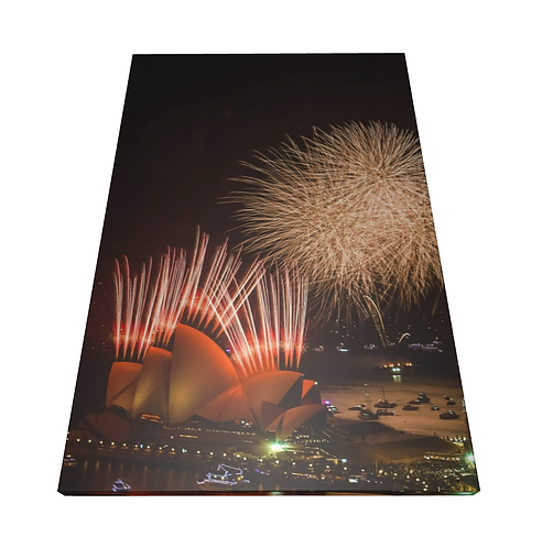 Sydney Opera House - Wooden Canvas Print