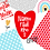Thumbnail: kit namoradinhos 4 - figuras decorativas e papéis digitais