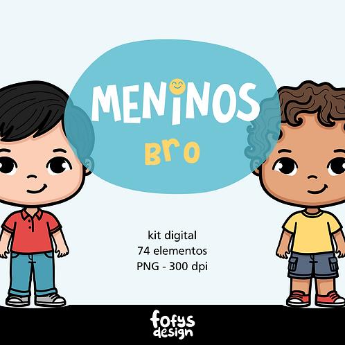 Kit Meninos - Bro