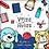 Thumbnail: Kit volta às aulas 3 - Objetos e papéis digitais