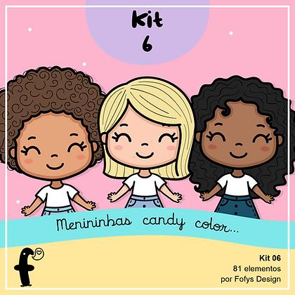 menininhas candy color kit 6