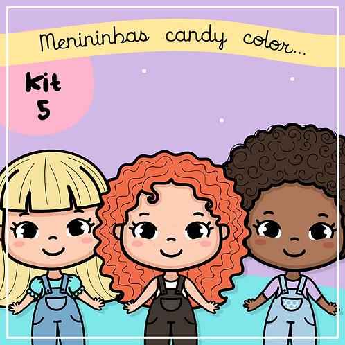 Menininhas Candy Color Kit 5