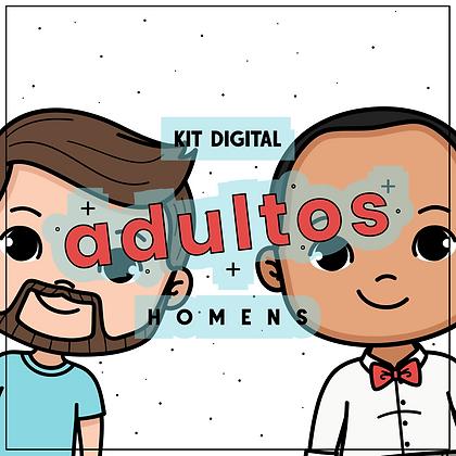 kit digital adultos - homens
