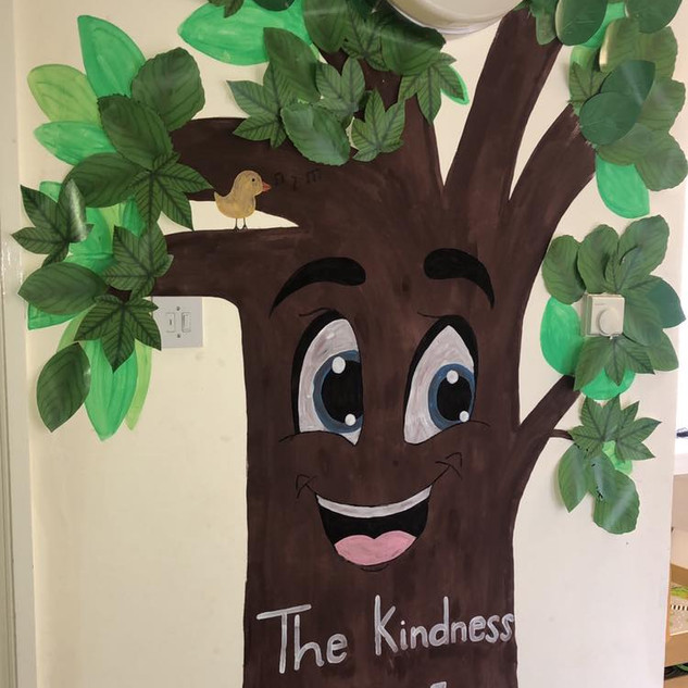 We created a kindness tree..
