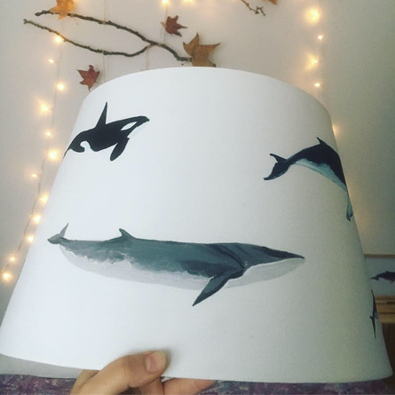 Whale lamp
