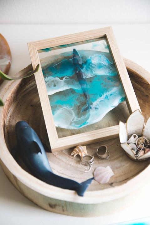 Fin whale & Resin sea