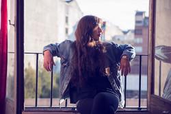 The girl next window