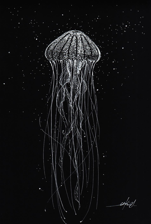 Drifting in a black ocean