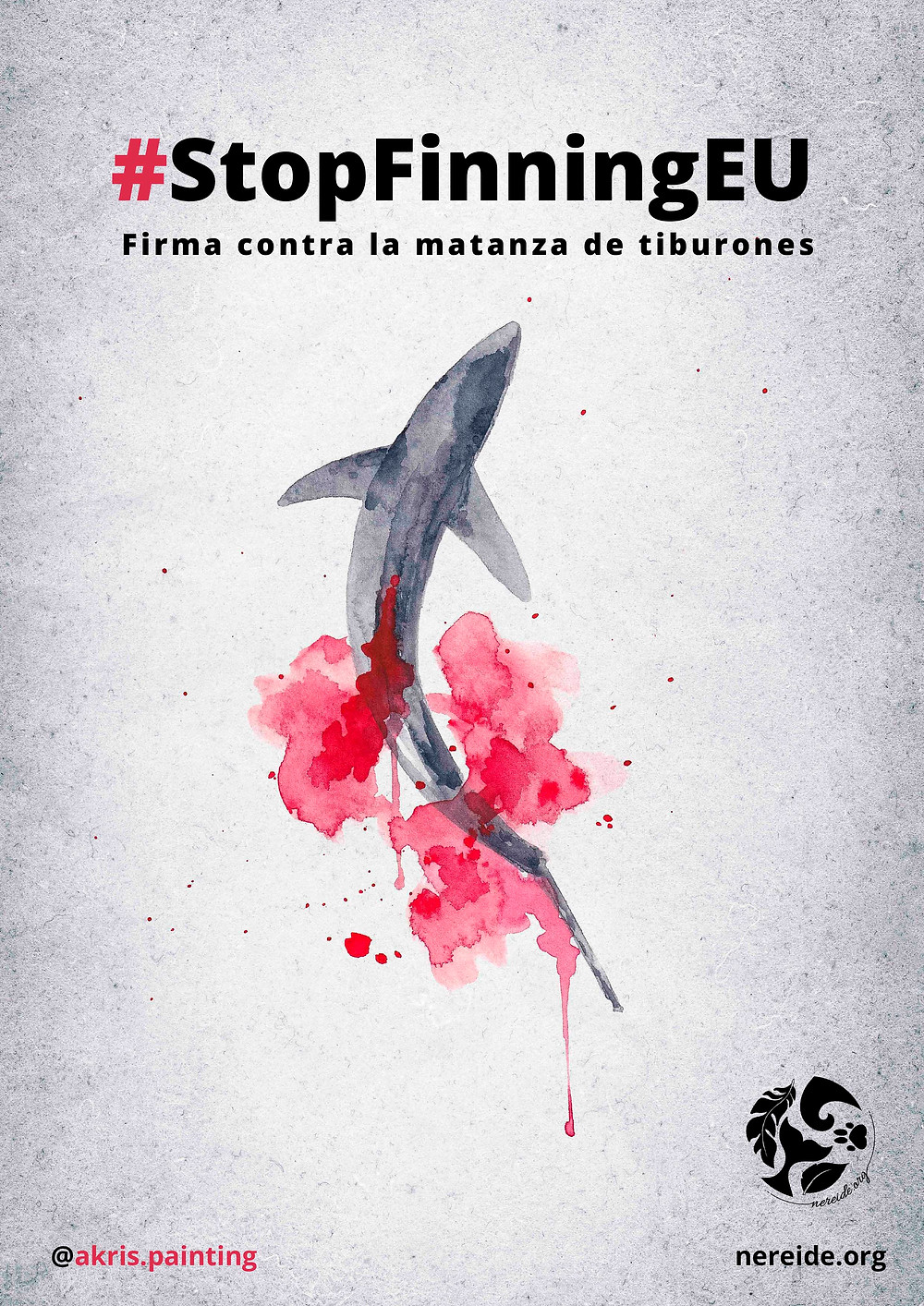 Stopfinningeu, finning, shark, matanza de tiburones, stop finning europa españa