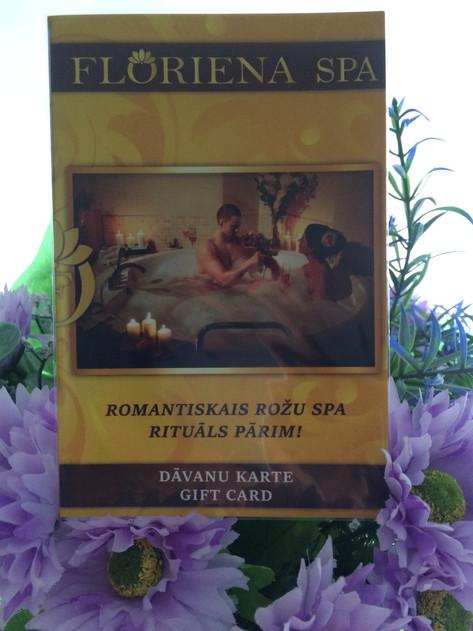 Romantiskais Rožu SPA rituāls pārim