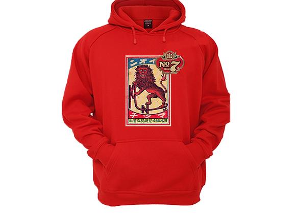 """Vintage """"Lion Sin"""" Hoodie"""