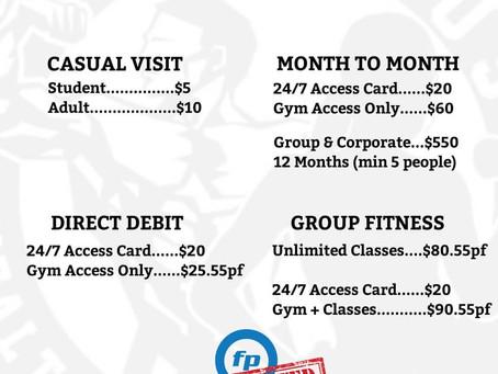 Aventus Health New Price List