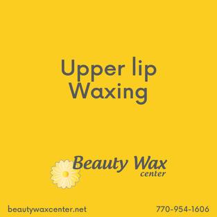 Brazilian Wax McDonough   Upper lip waxing