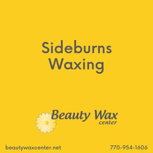 Brazilian Wax McDonough   Sideburns waxing