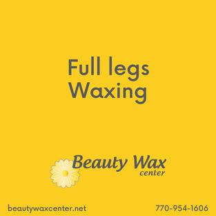 Brazilian Wax McDonough   Full legs waxing