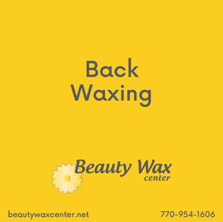 Brazilian Wax McDonough   Back waxing
