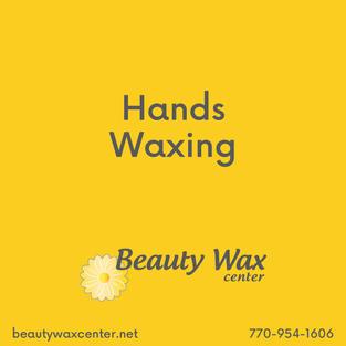 Brazilian Wax McDonough   Hands waxing