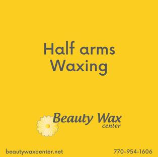 Brazilian Wax McDonough   Half arms waxing
