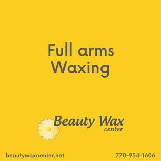 Brazilian Wax McDonough   Full arms waxing
