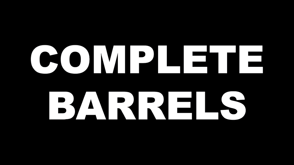 Pre-Built Complete Vaulting Barrel