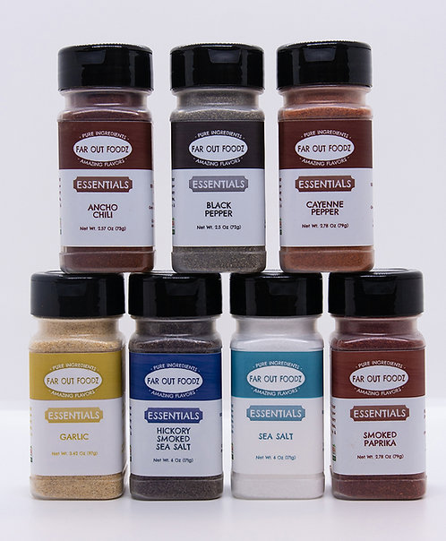 Spices & Sea Salt - Essentials Line