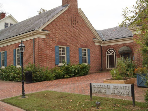 All Branches of the Caroline County Public Library to Close Temporarily