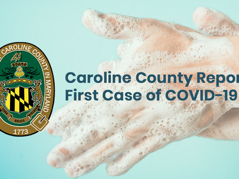 Caroline County Reports First Case of COVID-19