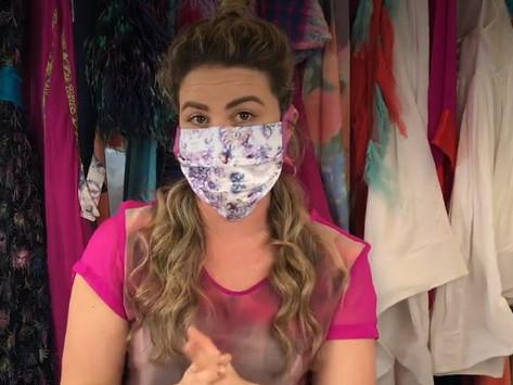 Face Coverings Mandatory Effective Saturday; No-Sew Mask Tutorials