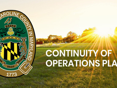 Caroline Commissioners Order County Government to Operate at Level III Continuity of Operations