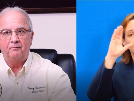 VIDEO: Commissioners Statement About First Case of COVID-19 in Caroline County