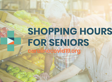 Shopping Hours for Seniors in Caroline County