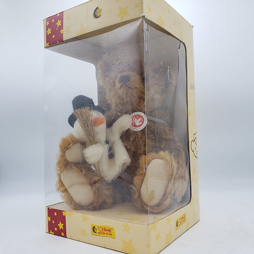 2007 Steiff Frosty Bear Numbered with COA in Original Box