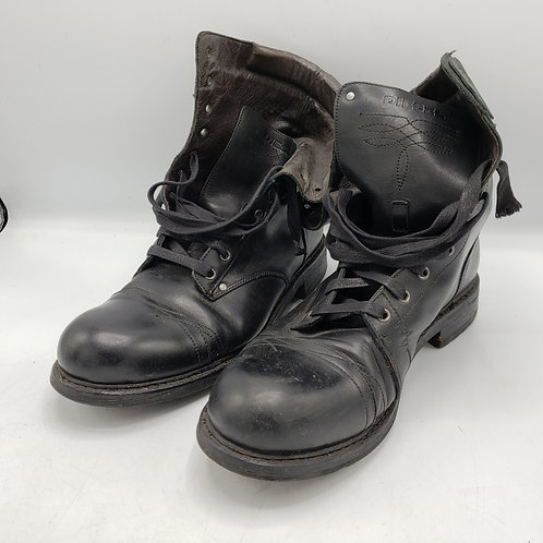 Diesel Cassidy Black Grun Army Military Men's Boots