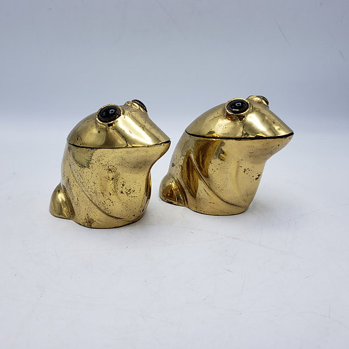 Brass Frog Containers