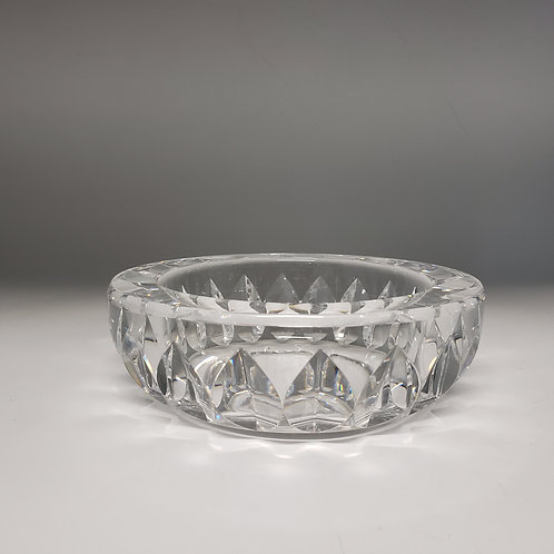 Signed Orrefors Crystal Low Dish