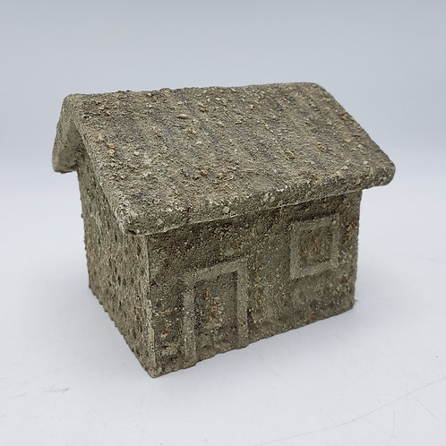 B D Miniature Resin Building ~ Small House