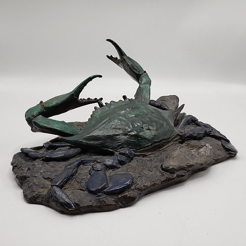 Carl Wagner Bronze Sculpture of a Crab - Signed and Dated Edition of 200