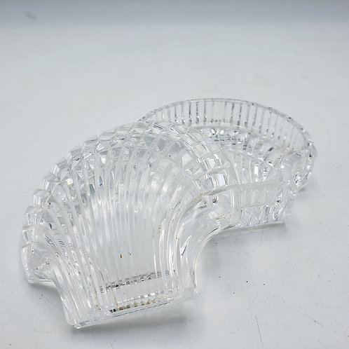 Waterford Crystal Clam Shell Box