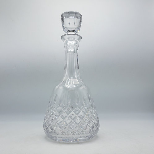 Glass Block Decanter with Stopper