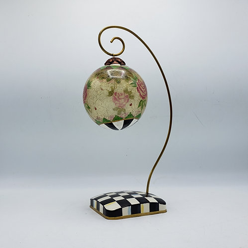 MacKenzie-Childs Courtly Check Enamel Ornament Stand (Ornament Sold Separatel)