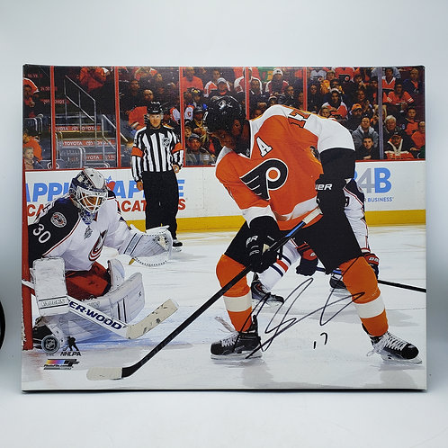 Signed Flyers Print - Wayne Simmons