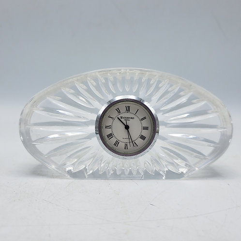Waterford Crystal Oval Clock