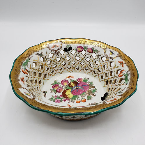 Reticulated Porcelain Bowl